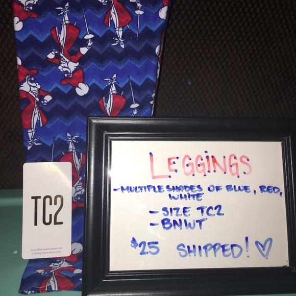 LuLaRoe Pants - 💥Price Firm💥Lularoe Captain Hook TC2 Leggings